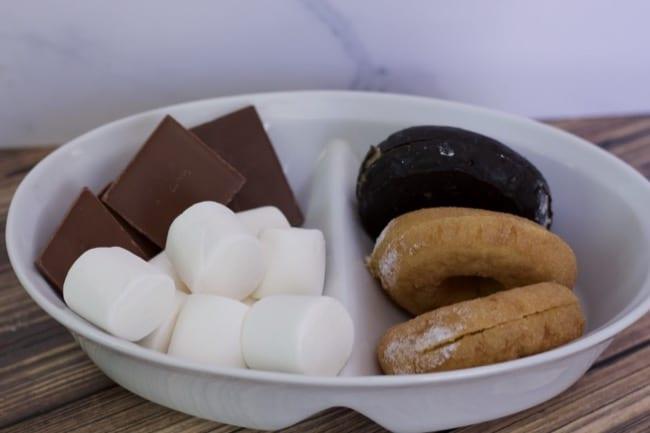 how to make donut smores