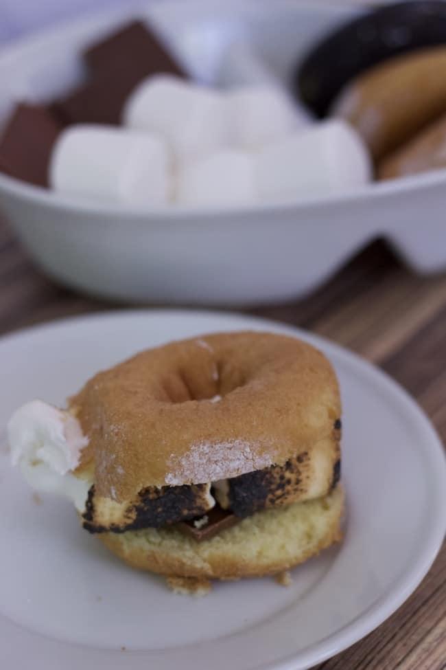 pin of smore doughnut