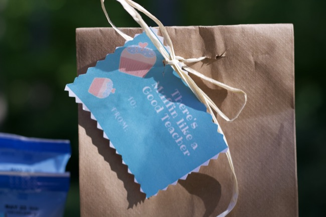 printable teacher appreciation cards muffins